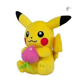 "TOMY - Pokemon pokemon 8"" plush berry pikachu"