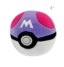 "TOMY - Pokemon pokemon 5"" plush master ball"