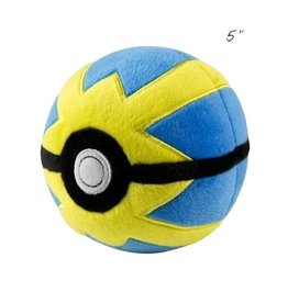 "TOMY - Pokemon pokemon 5"" plush quick ball"