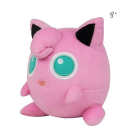 "TOMY - Pokemon pokemon 8"" plush jigglypuff"