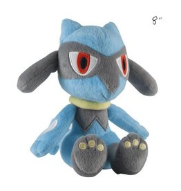 "TOMY - Pokemon pokemon 8"" plush riolu"