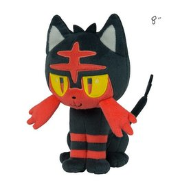 "TOMY - Pokemon pokemon 8"" plush litten"