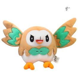 "TOMY - Pokemon pokemon 8"" plush flying rowlet"