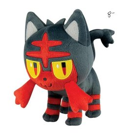 "TOMY - Pokemon pokemon 8"" plush standing litten"