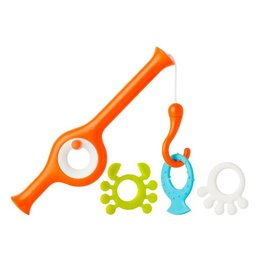 Boon boon cast fishing pole bath toy