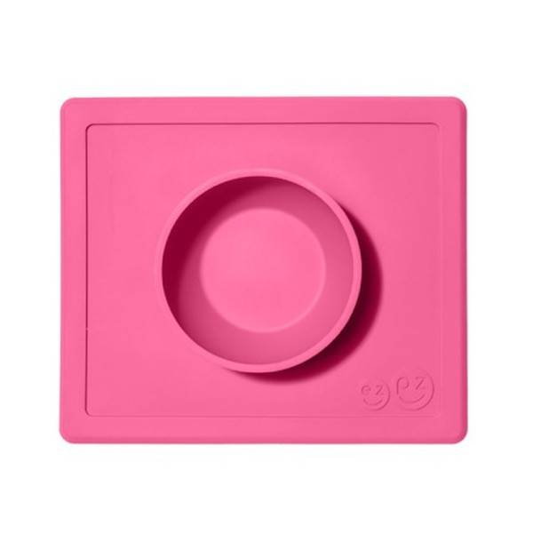 EzPz ezpz happy bowl pink