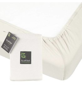Kushies Baby kushies baby organic jersery cotton crib sheet - off white