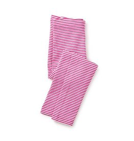 Tea Collection tea collection striped leggings - shocking fuschia