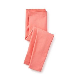 Tea Collection tea collection skinny solid leggings - orange buoy