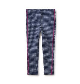 Tea Collection tea collection stripe n dot leggings - indigo