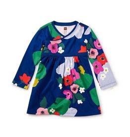 Tea Collection tea collection scottish garden wrap neck baby dress