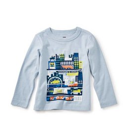 Tea Collection tea collection glasgow tour graphic baby tee