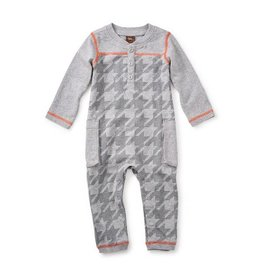 Tea Collection tea collection houndstooth cargo romper