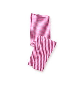 Tea Collection tea collection striped baby leggings - shocking fuschia