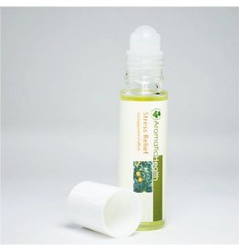 Aromatic Health aromatic health stress relief essential oil roll-on 10ml