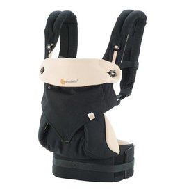 Ergo Baby ergo baby 360 four position baby carrier - black/camel