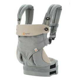 Ergo Baby ergo baby 360 four position baby carrier - grey/taupe
