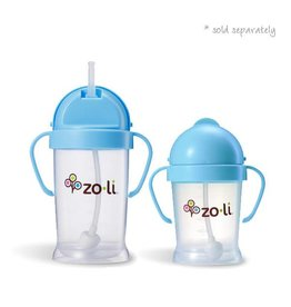 Zoli zoli bot original straw sippy cup - blue