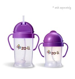 Zoli zoli bot original straw sippy cup - purple