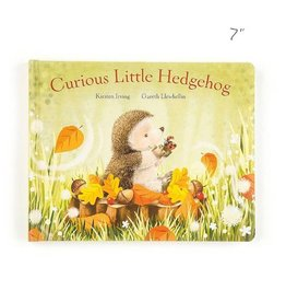 Jellycat jellycat curious little hedgehog board book