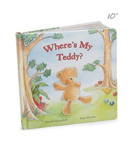 Jellycat jellycat where's my teddy board book
