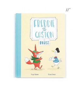 Jellycat jellycat freddie and gaston in paris book