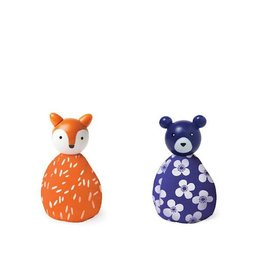 MiO by Manhattan Toy mio animal set fox + bear