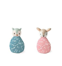 MiO by Manhattan Toy mio animal set owl + deer