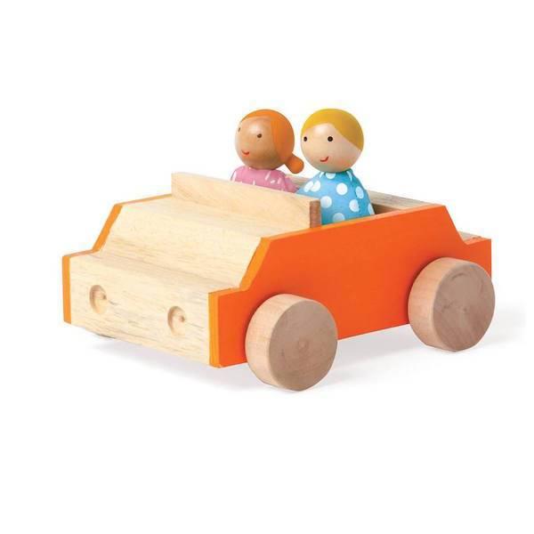 MiO by Manhattan Toy mio car + 2 people set