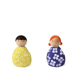 MiO by Manhattan Toy mio people set yellow + royal blue