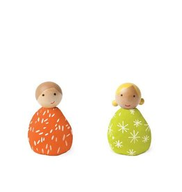 MiO by Manhattan Toy mio people set lime + orange