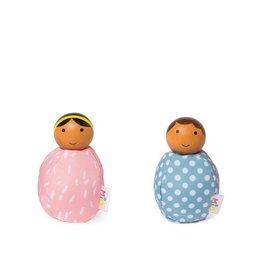 MiO by Manhattan Toy mio people set pink + blue