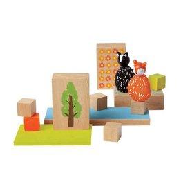 MiO by Manhattan Toy mio woodland + fox + skunk set
