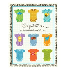 Yellow Bird Paper Greetings yellow bird paper greetings - undershirts baby boy card