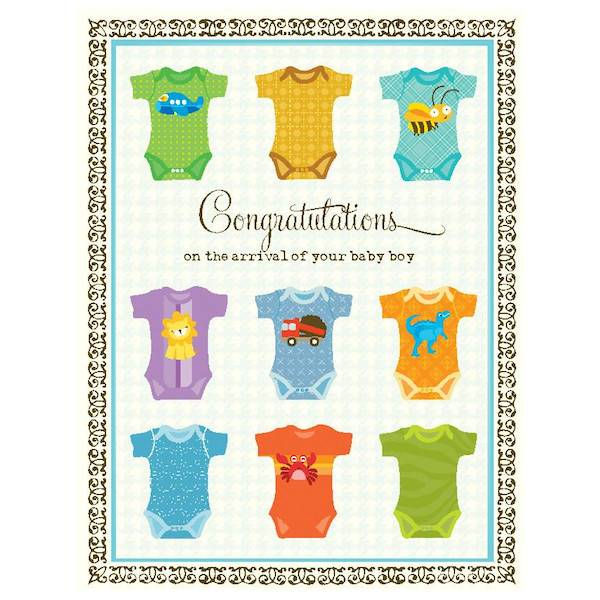 New baby card boy undershirts by yellow bird paper greetings yellow bird paper greetings yellow bird paper greetings undershirts baby boy card m4hsunfo