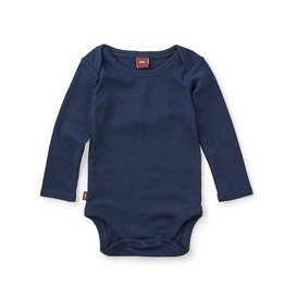 Tea Collection tea collection basically baby bodysuit - heritage blue