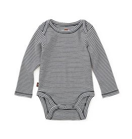 Tea Collection tea collection striped bodysuit - heritage blue