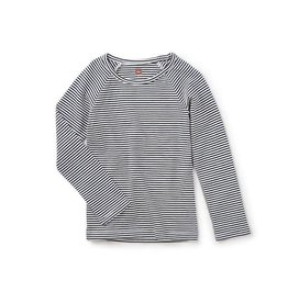 Tea Collection tea collection striped purity tee - heritage blue