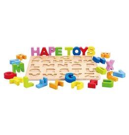 Hape Toys hape toys alphabet puzzle