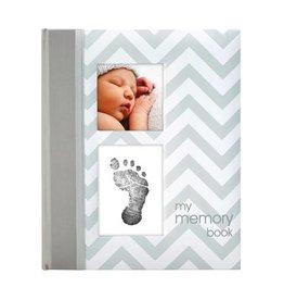 Pearhead pearhead babybook chevron grey