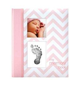 Pearhead pearhead babybook chevron pink