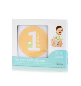 Pearhead pearhead first year belly stickers - neutral