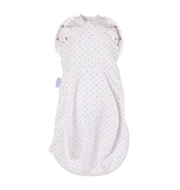 Gro Company grosnug rainbow spot newborn 2 in 1 swaddle & grobag