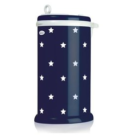 Ubbi Baby ubbi eco-friendly stainless diaper pail - navy stars