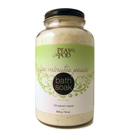 peas in a pod peas in a pod five minutes peace bath soak