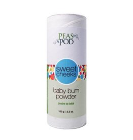 peas in a pod peas in a pod sweet cheeks baby bum powder