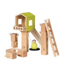 MiO by Manhattan Toy mio tree fort + 1 person