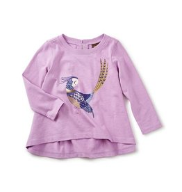Tea Collection tea collection pheasant graphic tee