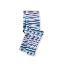 Tea Collection tea collection multistripe baby leggings - taffy