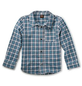 Tea Collection tea collection heath button-down shirt